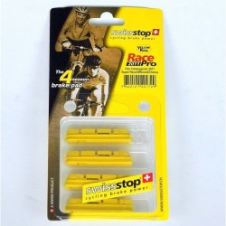 Pattini RacePro 2011 per Campagnolo 10/11v Yellow King SwissStop